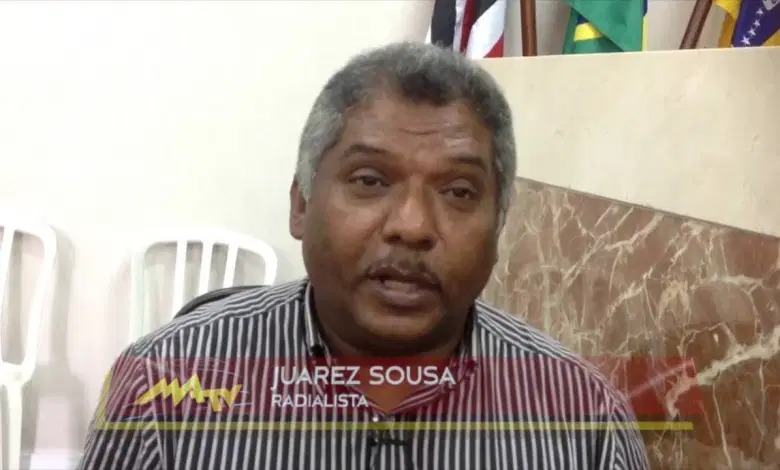 LUTO – Morre o radialista Juarez Sousa, vítima de COVID-19