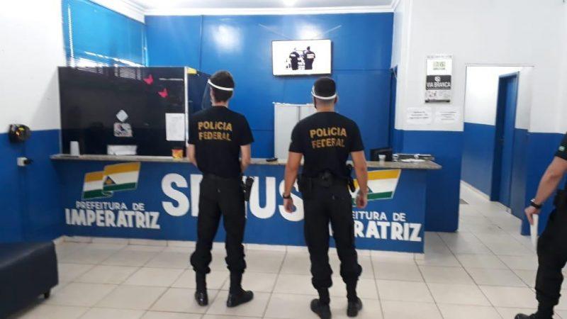 PF realiza operação em Imperatriz para investigar suposto desvio de recursos na saúde