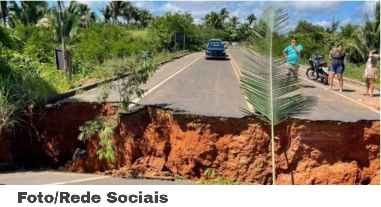 Emergências – Trecho entre Barão de Grajaú e São Francisco do Maranhão é Bloqueado após Fortes Chuvas