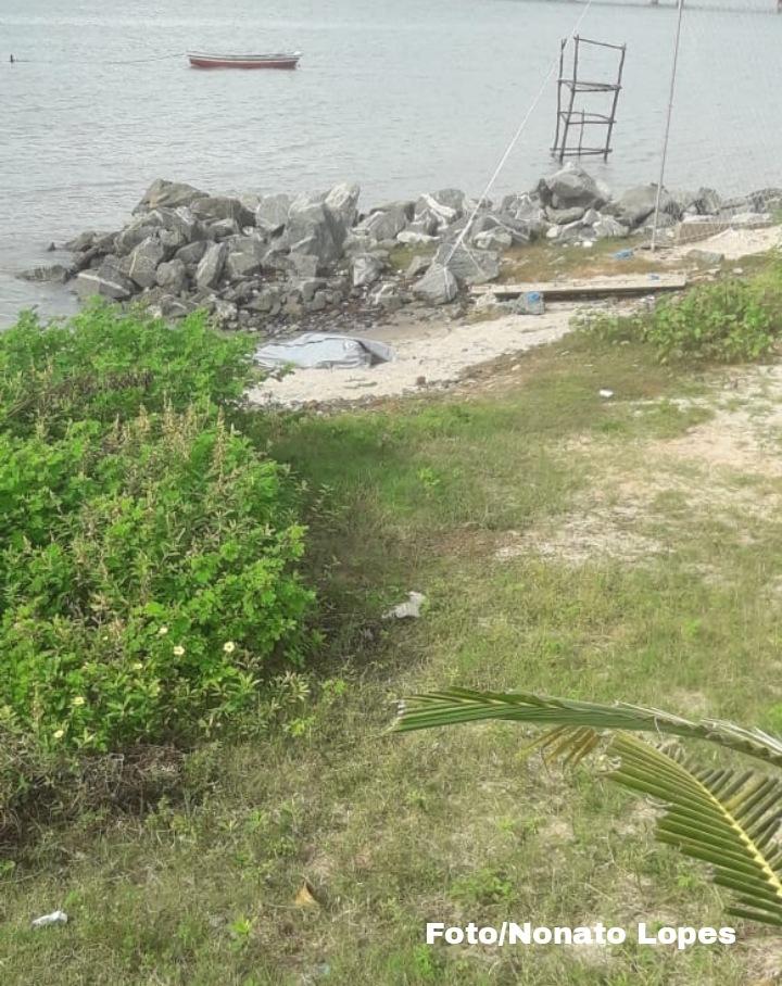 Corpo de homem é encontrado na baía de São Marcos no bairro do São Francisco
