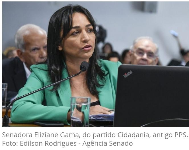 Partido Cidadania de Eliziane Gama pede no STF a suspensão de missas e cultos religiosos