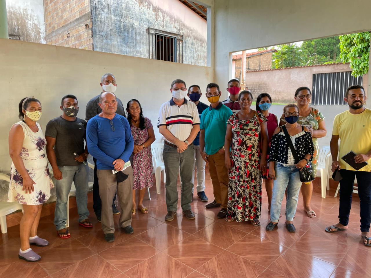 Cedral – Roberto Brandão segue firme com olhar social visitando os municípios