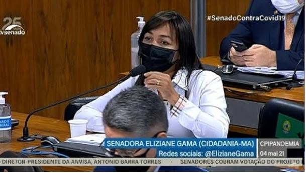 CPI do Covidão  – Descontrole de Eliziane Gama na CPI da Covid