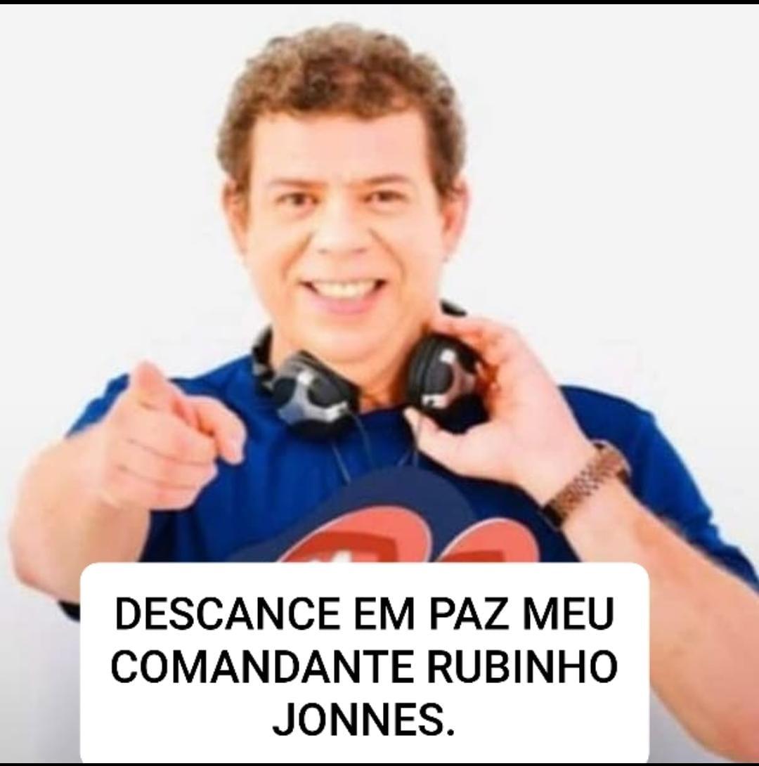 URGENTE! Morre locutor da Rádio Mirante FM Rubinho Jonnes, por complicações da Covid-19