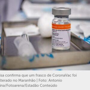 Anvisa alerta sobre adulteração de frascos de vacina após caso no Maranhão