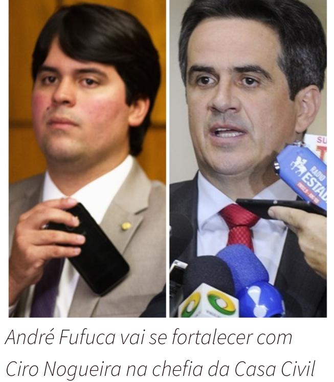 Com Ciro Nogueira na Casa Civil, Fufuca assumirá presidência nacional do PP