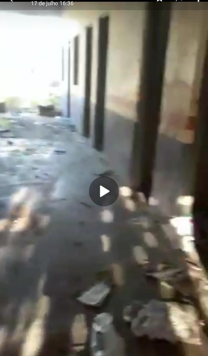 Cedral – Prefeito Fernando Cuba quer ficar a qualquer custo na história; depois da denúncia da iluminação pública, agora escola abandonada