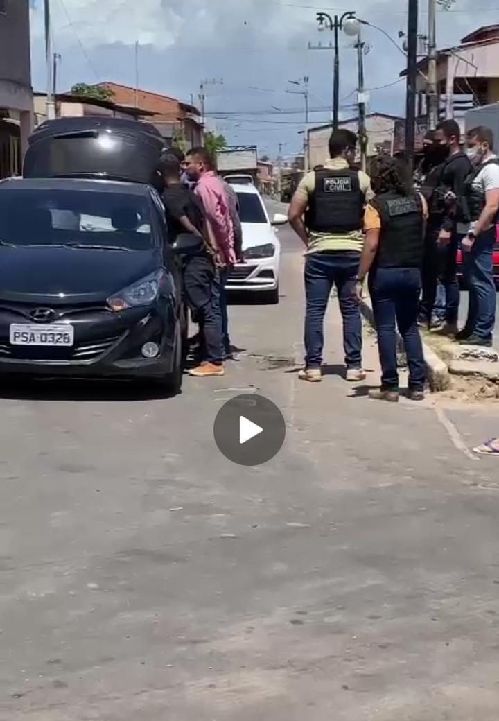 Raposa – Quatro suspeitos de planejarem sequestro de comerciante são presos no município