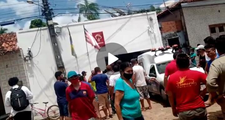 Assalto a agência bancária deixa dois vigilantes mortos em Vitória do Mearim
