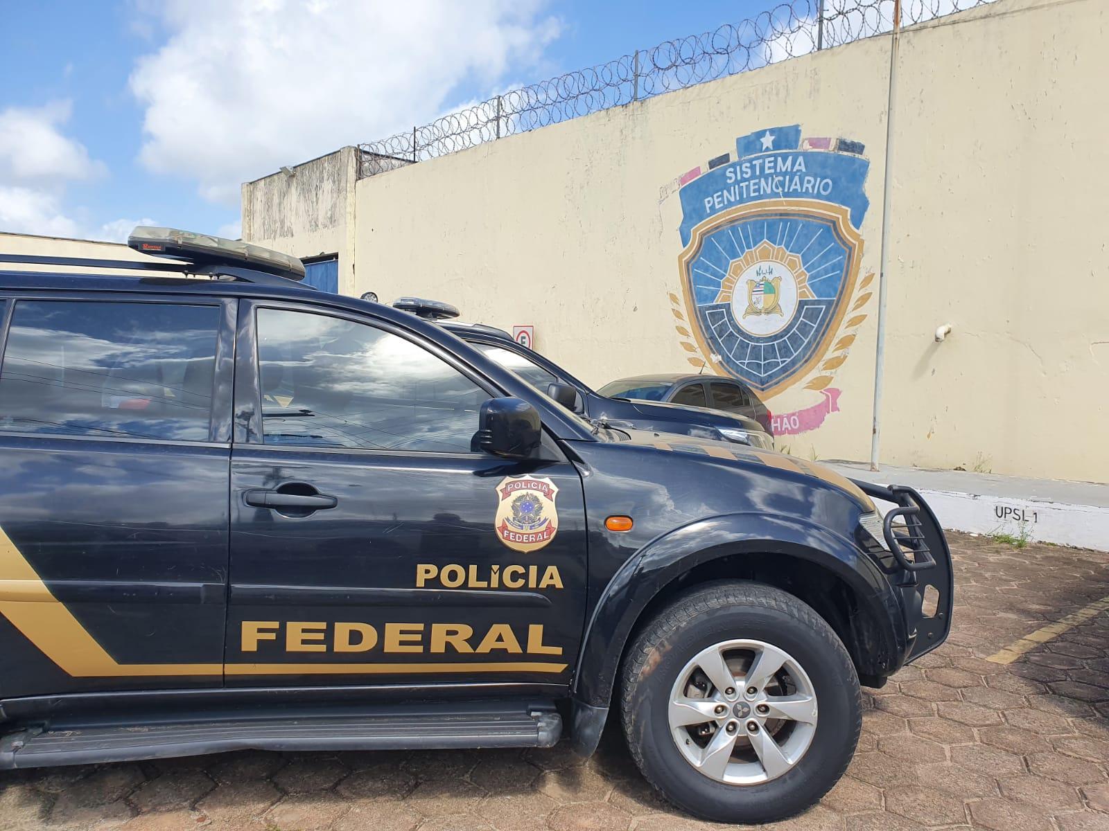 Operação da PF no Maranhão cumpre mandados contra criminosos que tramavam execução de diretor de presídio