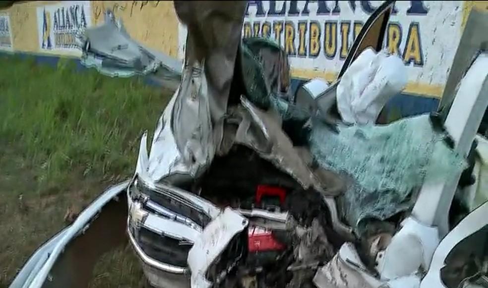 São José de Ribamar- Acidente deixa seis pessoas feridas em acidente na MA-201