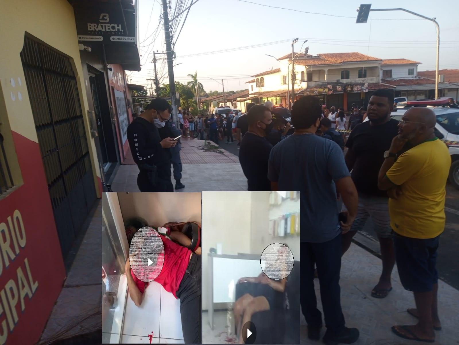 Dois homens e uma mulher tentam assaltar loja no Maiobão e homem é morto no local