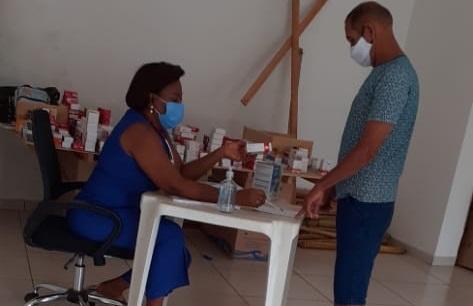 Olhar Social-Comunidade de Outeiro recebe atendimento médico e medicamentos básicos gratuitos