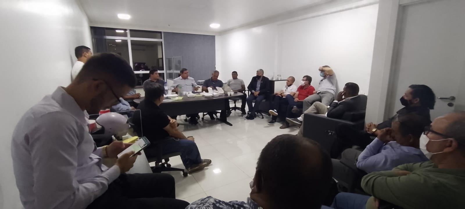 Professor Roberto Brandão reúne amigos e correligionários para traçar metas para sua pré-campanha 2022