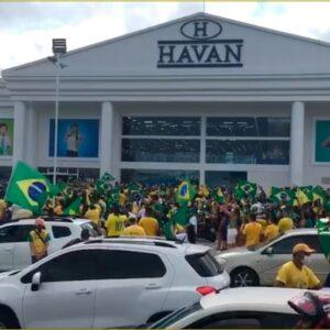 São Luís –Manifestantes fazem ato a favor do presidente Bolsonaro na Capital
