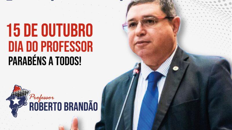 Professor Roberto Brandão destaca necessidade da data para conscientização sobre a importância da categoria