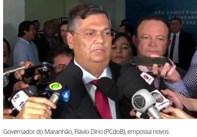 Com o grupo rachado e sem muita opção; Flávio Dino dá posse a novos secretários